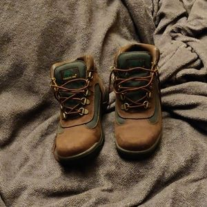 Big Kids Timberland field boots